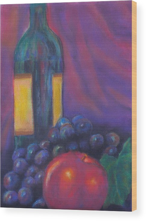 Pastel Wood Print featuring the painting Clarity by Lou Ewers