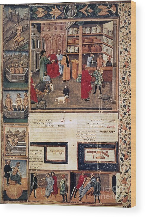 1440 Wood Print featuring the photograph Open-air Pharmacy by Granger