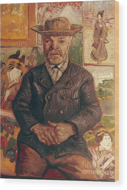 1887 Wood Print featuring the photograph Van Gogh: Pere Tanguy, 1887 by Granger