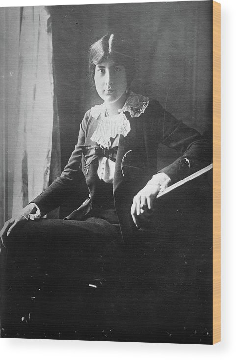 1918 Wood Print featuring the photograph Lili Boulanger (1893-1918) by Granger