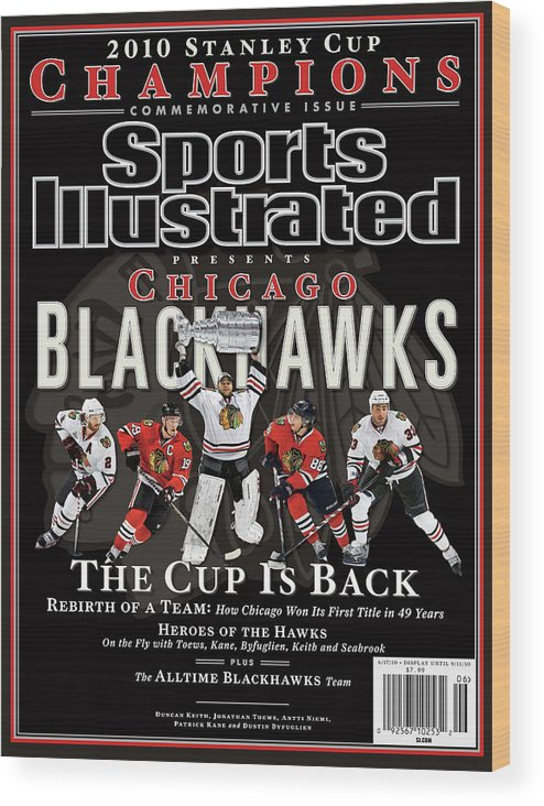 Playoffs Wood Print featuring the photograph 2010 Stanley Cup Finals Sports Illustrated Cover by Sports Illustrated
