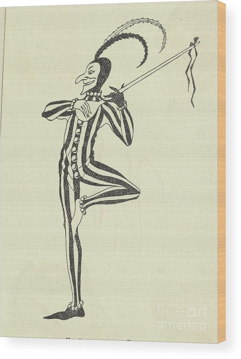 People Wood Print featuring the photograph Illustration Of A Humorous Casanova by Bettmann
