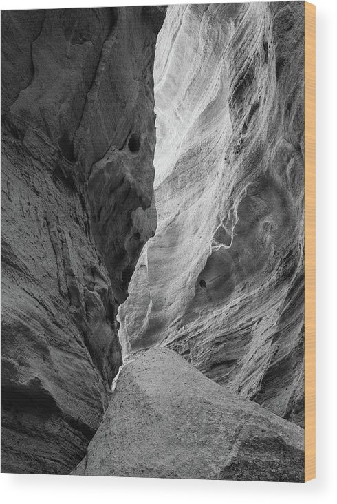 New Mexico Wood Print featuring the photograph Kasha-Katuwe by Candy Brenton