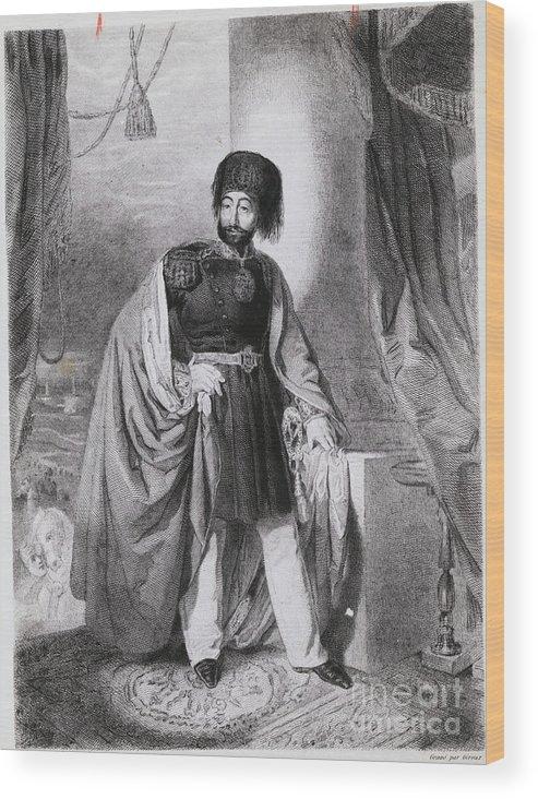 Art Wood Print featuring the photograph Portrait Of Turkish Emperor Mahmoud by Bettmann