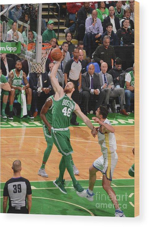 Nba Pro Basketball Wood Print featuring the photograph Aron Baynes by Jesse D. Garrabrant