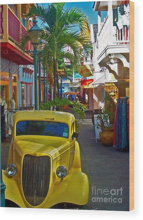 St. Martin Wood Print featuring the photograph Nice Ride by Debbi Granruth