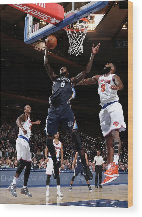 Nba Pro Basketball Wood Print featuring the photograph Jamychal Green by Nathaniel S. Butler