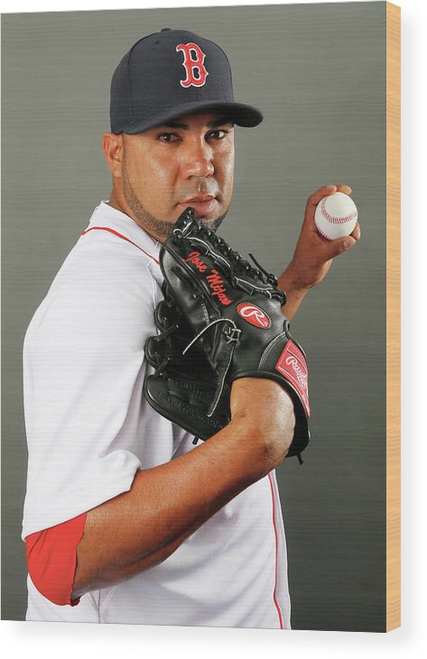 Media Day Wood Print featuring the photograph Jose Mijares by Elsa