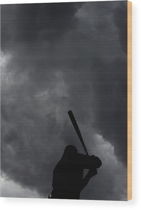 People Wood Print featuring the photograph Josh Harrison by Christian Petersen