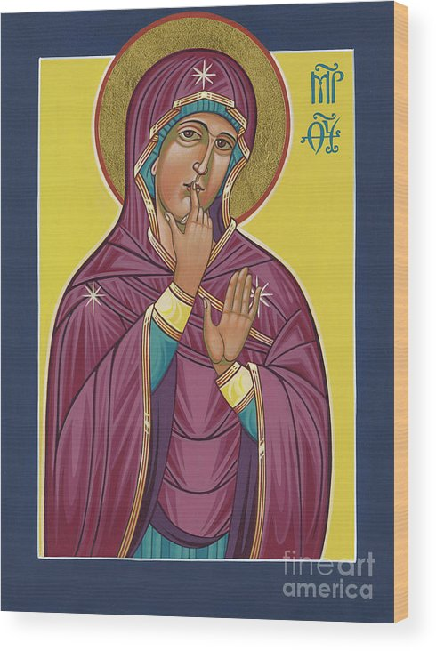 Our Lady of Silence by William Hart McNichols