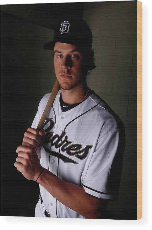 Media Day Wood Print featuring the photograph Wil Myers by Christian Petersen
