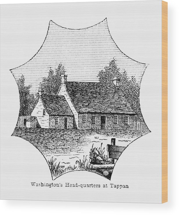 1780 Wood Print featuring the photograph Washington: Headquarters by Granger