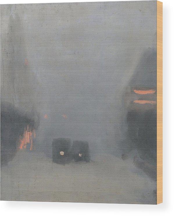 Clarice Beckett Passing Trams Wall Art Poster Print