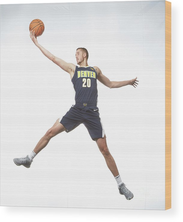 Nba Pro Basketball Wood Print featuring the photograph T.j. Leaf by Nathaniel S. Butler
