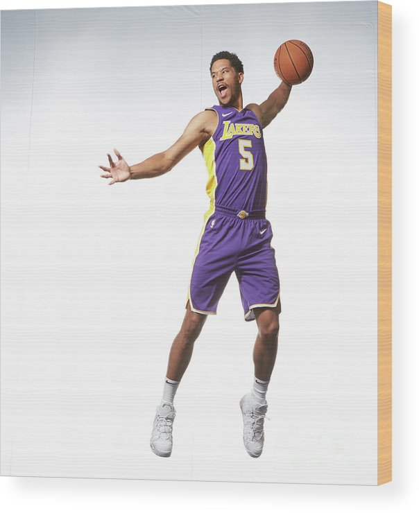 Nba Pro Basketball Wood Print featuring the photograph Josh Hart by Nathaniel S. Butler