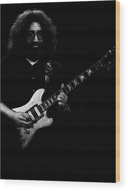 Grateful Dead Wood Print featuring the photograph Dead #18 by Ben Upham