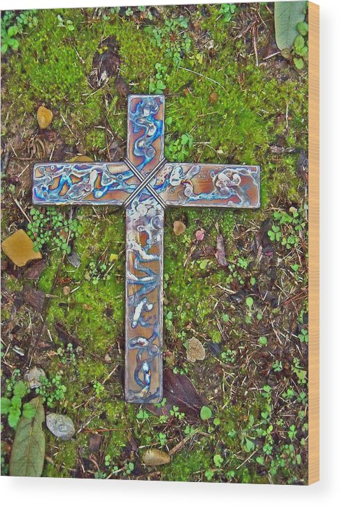 Spring Wood Print featuring the photograph Hope by Deborah Montana