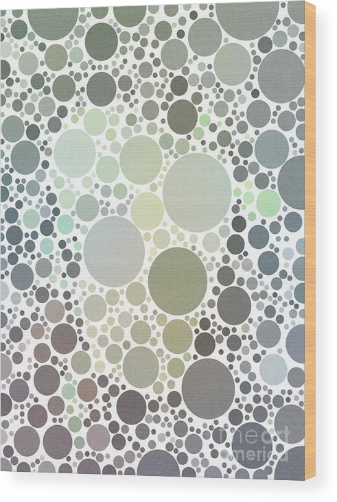 Percolatorapp Wood Print featuring the digital art In The Sea by Rachel Barrett