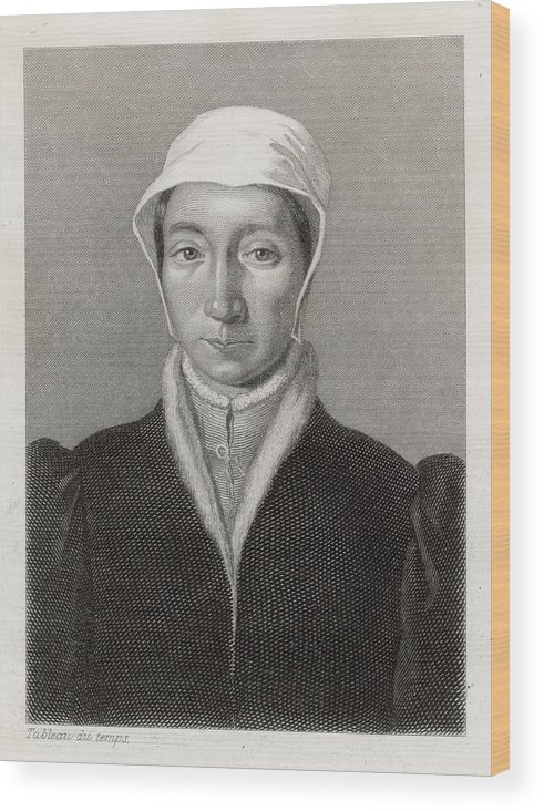 Isabella Wood Print featuring the drawing Isabella Of France Consort Of Edward by Mary Evans Picture Library