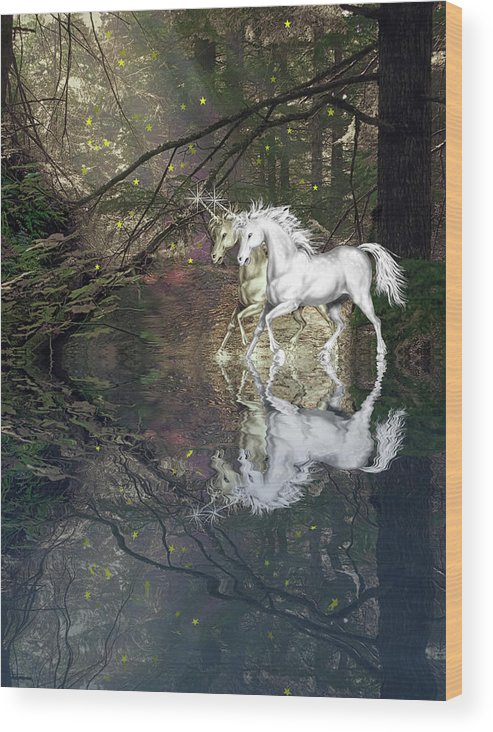 Magic Wood Print featuring the photograph Magic by Diane Schuster