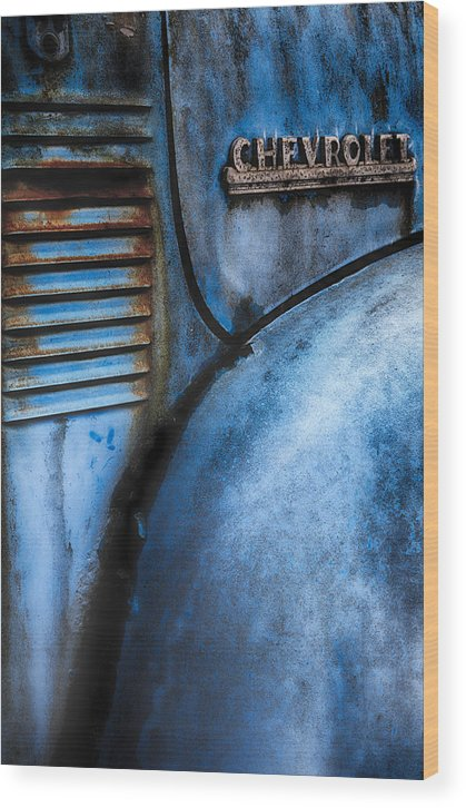 Old Cars Classic Car Wood Print featuring the photograph Vintage Truck 3 by Emmanuel Panagiotakis