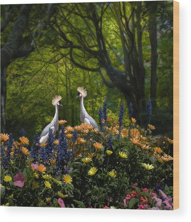 Flora Wood Print featuring the photograph 3343 by Peter Holme III
