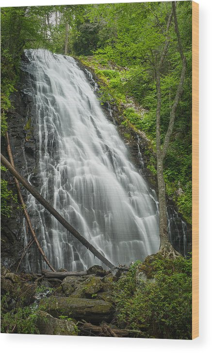 Landscape Wood Print featuring the photograph Crabtree-3 by Joye Ardyn Durham