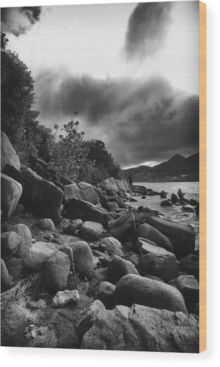 Pinel Island Wood Print featuring the photograph Pinel Island by Cindy Garwood