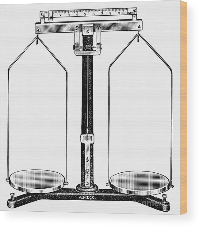 20th Century Wood Print featuring the photograph Balance, 20th Century by Granger