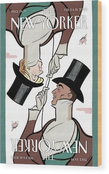 Seth Wood Print featuring the painting Eustace Tillarobama by Seth