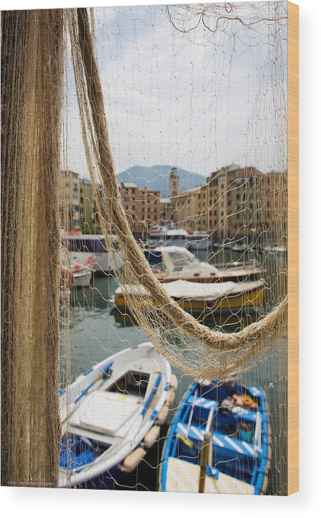 Italy Wood Print featuring the photograph Camogli 1 by Luigi Barbano BARBANO LLC