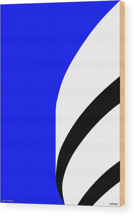 Guggenheim Wood Print featuring the digital art Is It Guggenheim by Asbjorn Lonvig