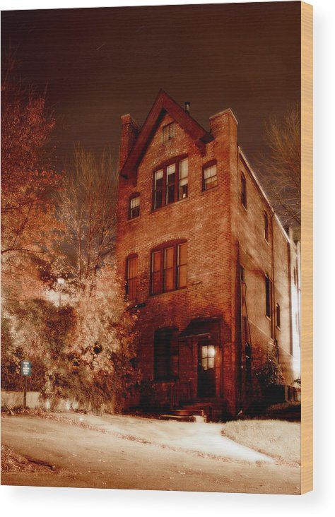 Huntington Wood Print featuring the photograph Sewing School by Michael Simeone