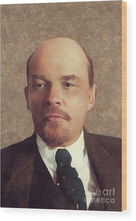 Vladimir Lenin, History Portraits by Esoterica Art Agency