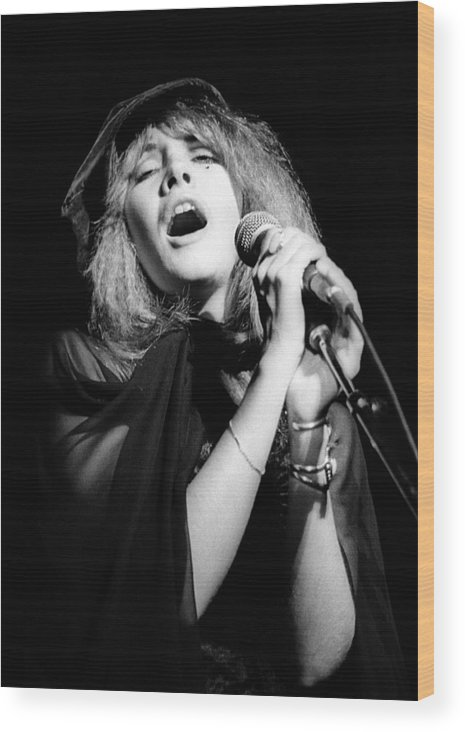 Music Wood Print featuring the photograph Fleetwood Mac Live by Ed Perlstein