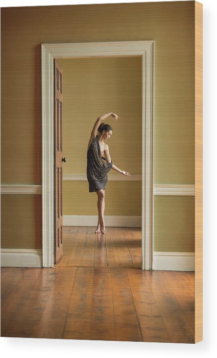 Ballet Wood Print featuring the photograph The Doorway by Ross Oscar