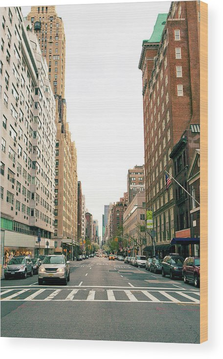 Outdoors Wood Print featuring the photograph Upper East Side, New York City by William Andrew