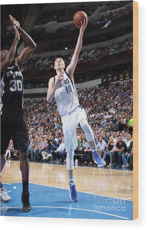 Nba Pro Basketball Wood Print featuring the photograph Jarrod Uthoff by Glenn James