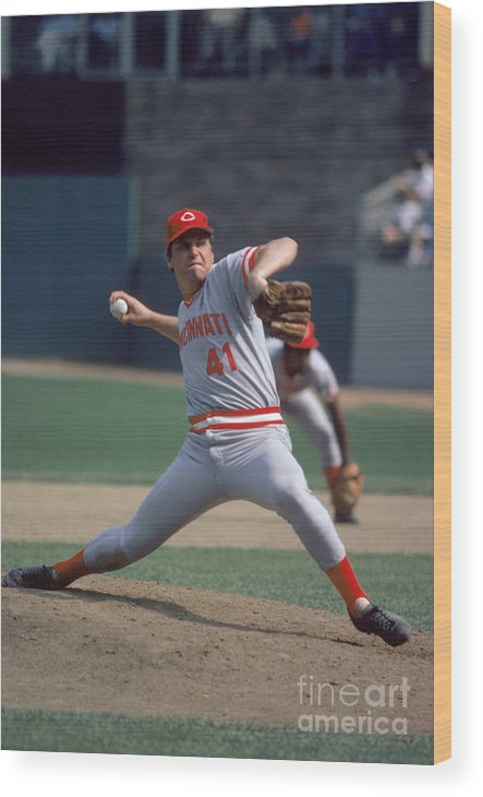 Tom Seaver Wood Print featuring the photograph Tom York by Rich Pilling