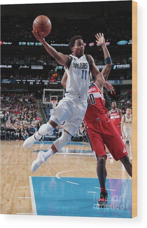 Nba Pro Basketball Wood Print featuring the photograph Yogi Ferrell by Glenn James