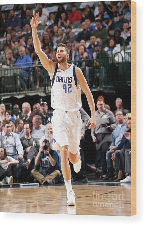Nba Pro Basketball Wood Print featuring the photograph Maxi Kleber by Glenn James