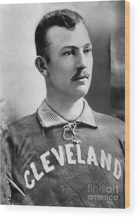 American League Baseball Wood Print featuring the photograph Cy Young by National Baseball Hall Of Fame Library