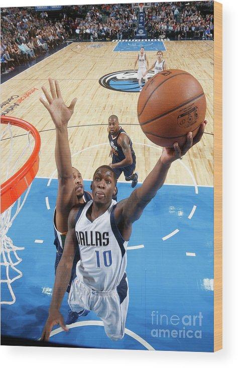 Nba Pro Basketball Wood Print featuring the photograph Dorian Finney-smith by Glenn James