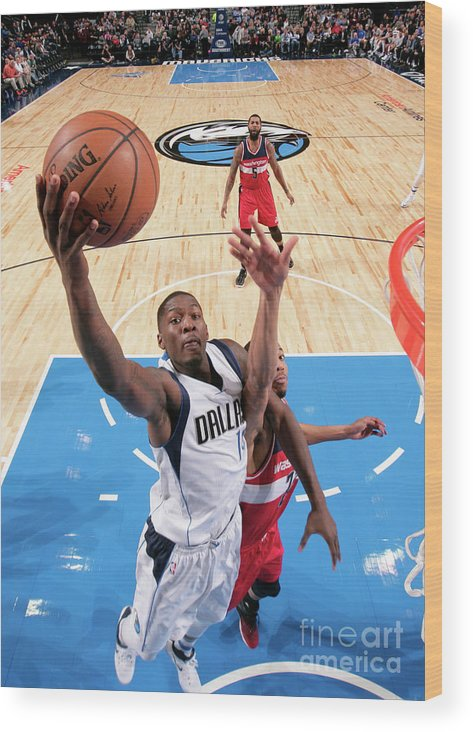 Nba Pro Basketball Wood Print featuring the photograph Dorian Finney-smith by Glenn James