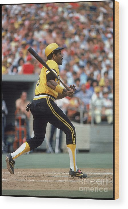 Sports Bat Wood Print featuring the photograph Willie Stargell by Rich Pilling