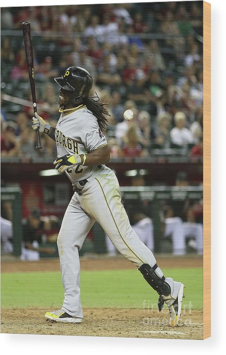 Ninth Inning Wood Print featuring the photograph Andrew Mccutchen by Christian Petersen