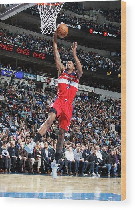 Nba Pro Basketball Wood Print featuring the photograph Bradley Beal by Glenn James