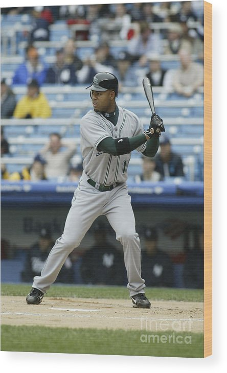 American League Baseball Wood Print featuring the photograph Carl Ray by Rich Pilling