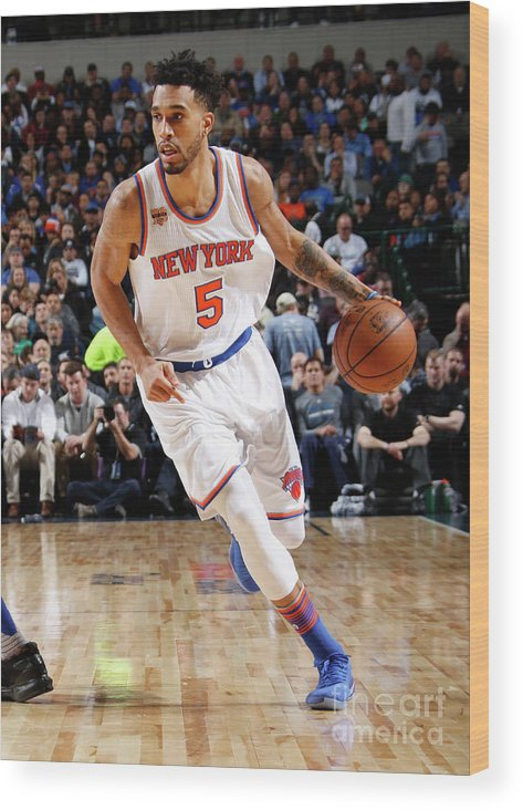 Nba Pro Basketball Wood Print featuring the photograph Courtney Lee by Danny Bollinger
