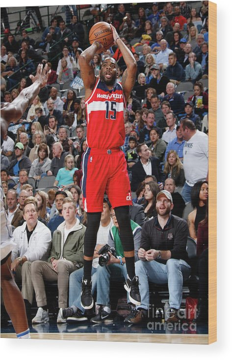 Nba Pro Basketball Wood Print featuring the photograph Dallas Thornton by Glenn James